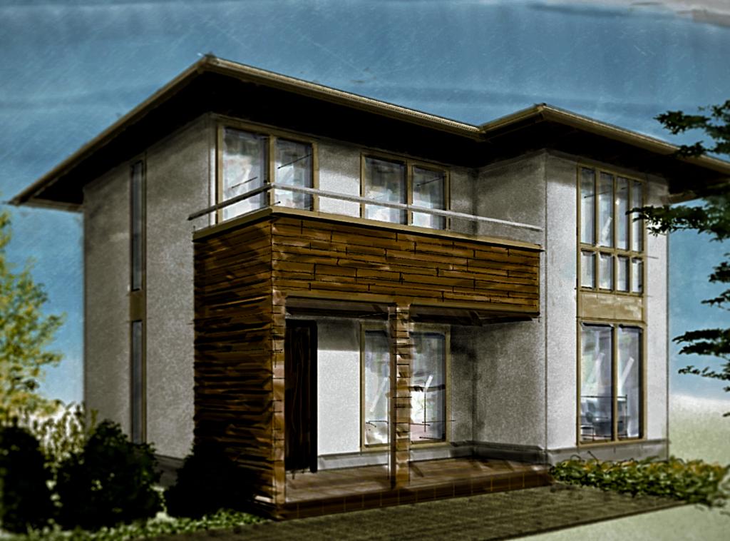 おしゃれな家づくり かっこいい住宅外観デザイン